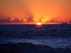 The Atlantic at Sunrise (jimbrickett) Tags: beach sunrise virginiabeach atlanticocean jimbrickett 92110foodbeachsurfsnrs