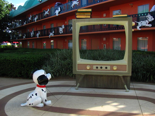 101 Dalmatians Section of Disney
