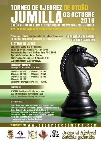 Cartel Torneo Otoño 2010 de Jumilla