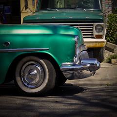 Green rides (Dominic Bugatto) Tags: texture buick squared