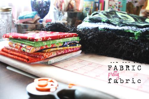 *pretty fabric*