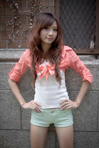 [フリー画像] 人物, 女性, アジア女性, 台湾人, 201010042100
