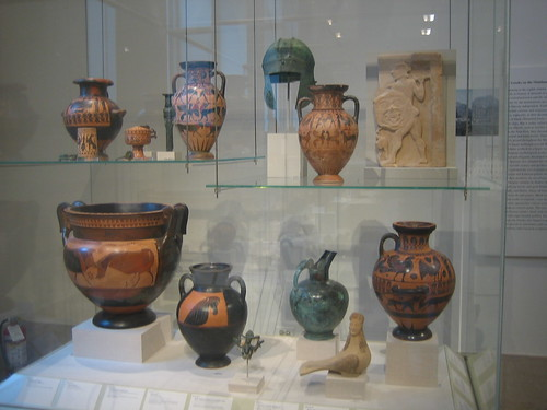 Greek Vases, The Metropolitan Museum of Art, New York City, September 2010 _8205