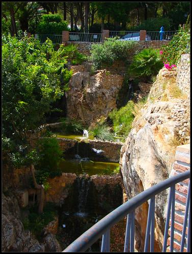 Tajo en el jardín de Mijas