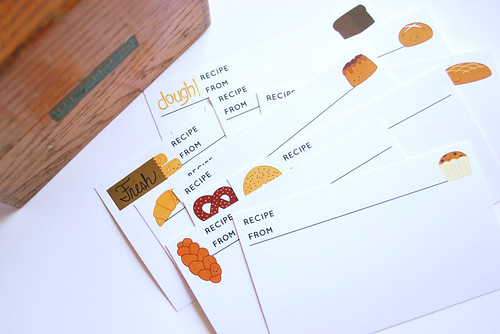 Dough Recipe Cards