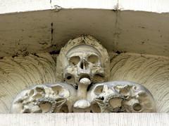 amsterdam, westerkerk (andrevanb) Tags: church death skull exterior kerk westerkerk exterieur rm4298 prinsengracht277 oostgevel westerkerkoostgevel bestelledeinhaus