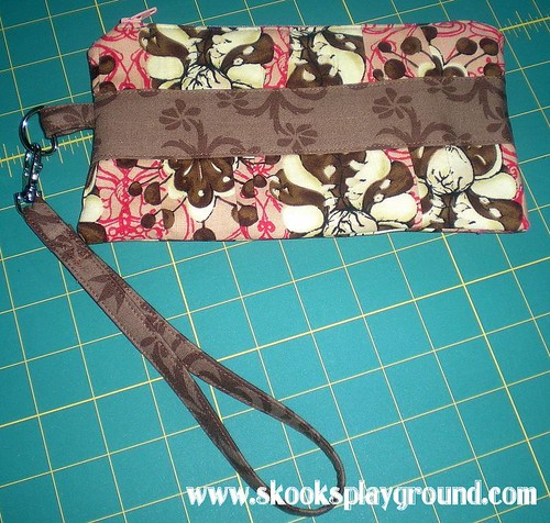 Gathered Clutch Purse
