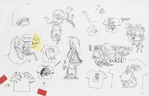 T-shirt Roughs #7