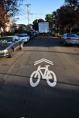 Sharrows on N. Concord-7