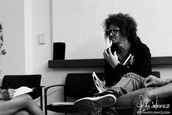 LMFAO Interview - Santa Clara - 9/23/10