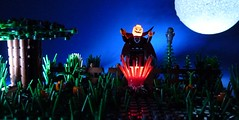Lord Pumpkin arrives (Legoagogo) Tags: halloween pumpkin lego moc afol