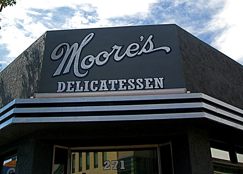 Moore's Deli in downtown Burbank