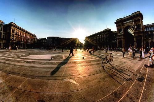 Duomo plaza / Idoia Iturralde (Aretxabaleta)