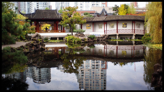 Reflections at Dr. Sun Yat-Sen Park