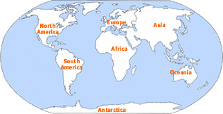 continent definitionmeaning  English picture dictionary Imagict
