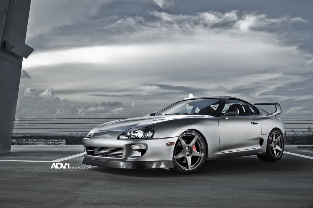 ADV.1 Project Supra RHD Single Turbo on ADV5.1 wheels