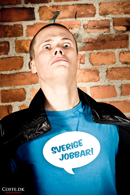 Sverige jobbar / Suecia trabaja, foto : coffe.dk