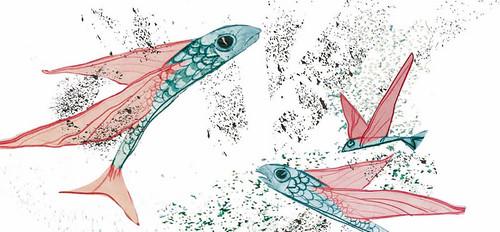 """Ilustración """"La belleza muda de los secretos del mar"""""""