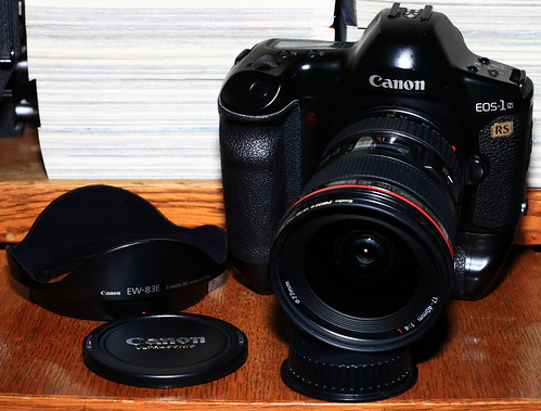 Canon EOS-1N RS with 17-40L