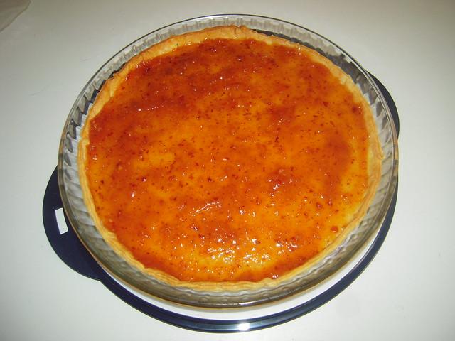 Tarte de Pera com Amendoa