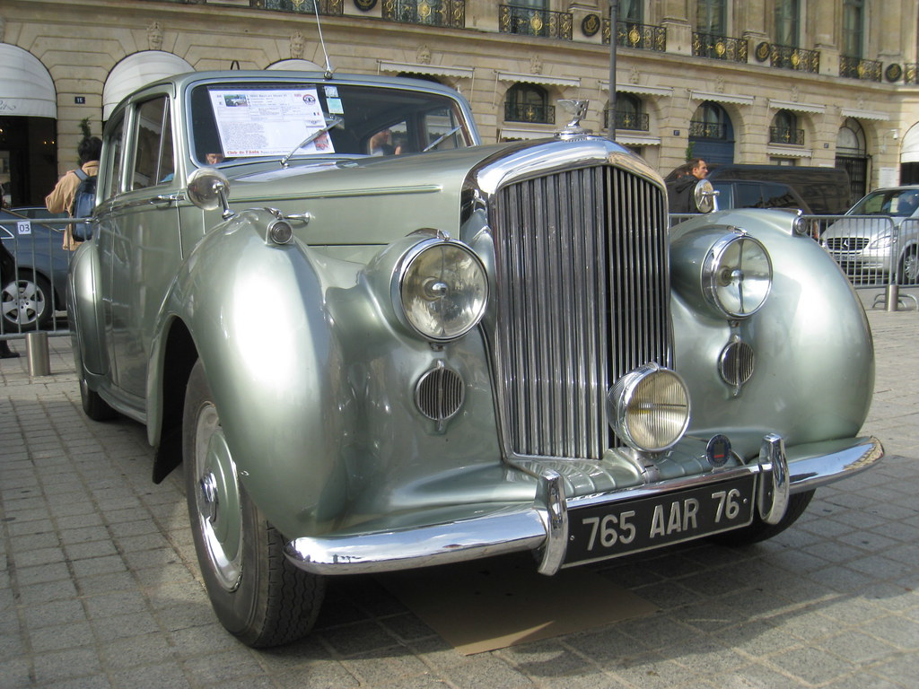The Bentley Mark VI was the first post-war luxury car from Bentley. Produced from 1946 to 1952, it was also the first car from Rolls-Royce with factory coachwork  but chassis were still also supplied