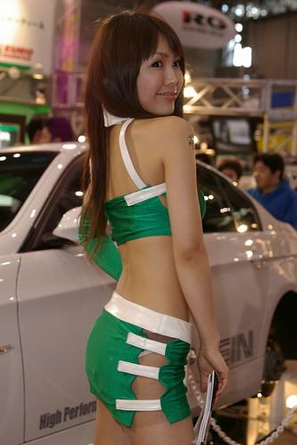 【アーカイブズ】2007東京オートサロン 各ブースのお姉さん画像その1