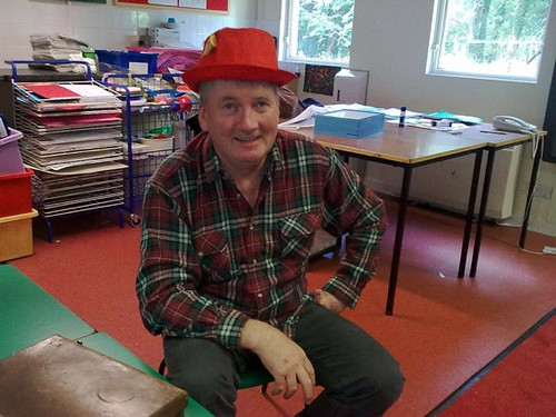 Phil Burns at Tarbet School