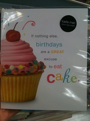 American Greetings cupcake taste birthday card
