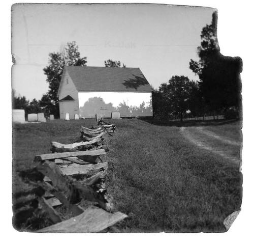Shiloh Methodist Old B&W