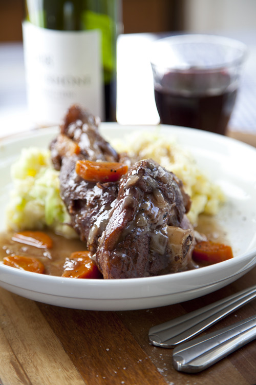 :: Lamb Shanks with Colcannon Mash