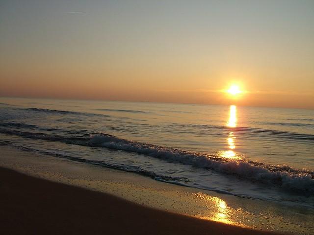 Calambrone ala tramonto