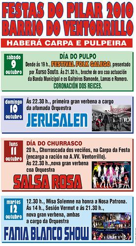 A Coruña - Ventorrillo 2010 - cartel