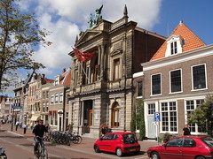 Teylers Museum- Haarlem, Noord Holland, The Netherlands (Brian Katzberger) Tags: holland haarlem netherlands windmill nederland thenetherlands windmills nl molen noordholland teylers haarlemthenetherlands