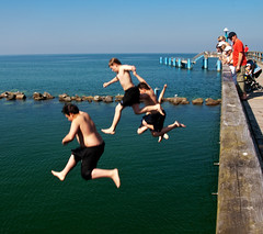 Jump ! (martinacalladine) Tags: germany rgen sellin mcalladine