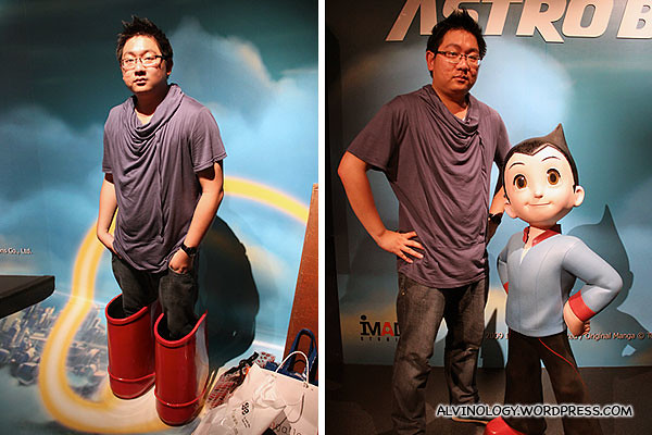 Astroboy! The only non-human character