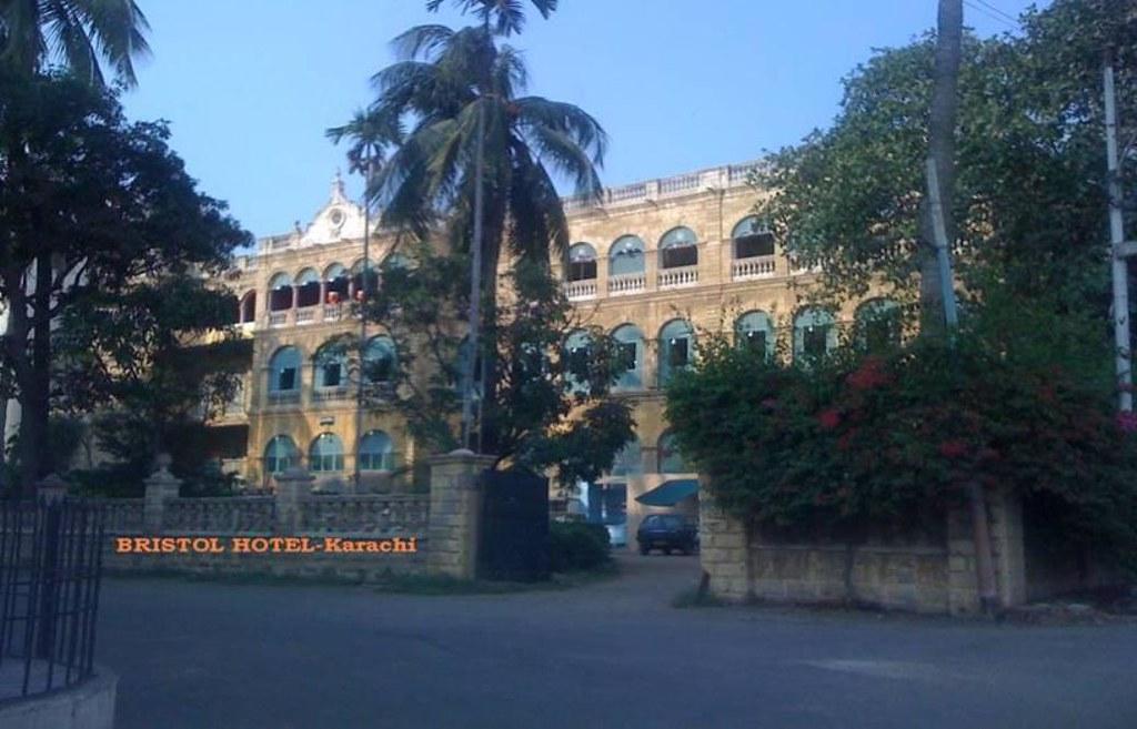 Remembering the Bristol Hotel Karachi 1910-1994 RIP
