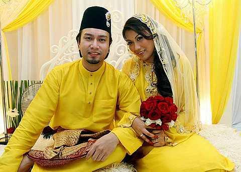 Aqasha kahwin