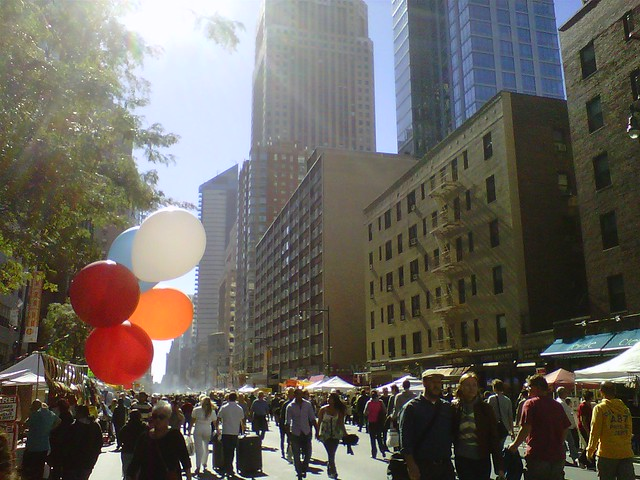 nyc 8th ave street fair