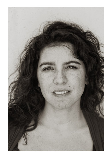Fibro Wall Portrait Series, Claudia