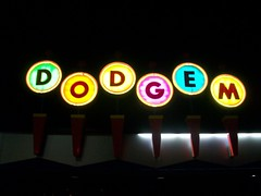 Dodgem (chicalookate) Tags: night amusement