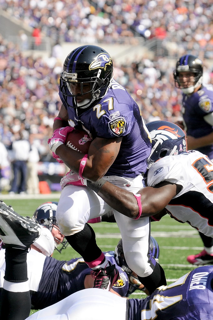 Ray Rice #27 Running Back Ravens