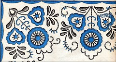 vintage Rumanian embroidery pattern (april-mo) Tags: needlework handmade embroidery stitches rumanian needleandthread embroideredart rumanianembroidery rumanianembroiderypattern