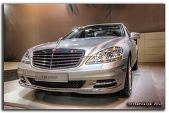 Mercedes-Benz S 400 Hybrid #1 :: HDR (servalpe) Tags: madrid car canon mercedes automobile sigma exhibition coche mercedesbenz campo s400 hybrid 1020 hdr topaz adjust ifema campodelasnaciones sclass sigma1020mm noiseware automotion photomatix naciones tonemapped eos450d mywinners servalpe