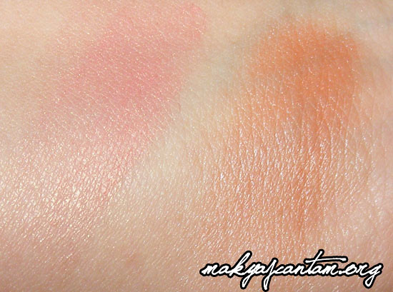MAC Springsheen vs Loreal True Match Apricot