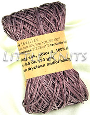 Habu Root Sizing Silk in Smokey Plum-Purple
