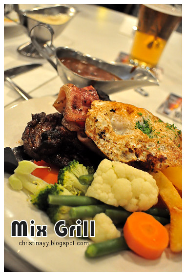 Christopher's Restaurant: Mix Grill