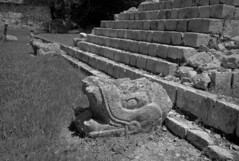 Chichen Itza Leica M8 (Patagonean) Tags: mexico chichenitza mayanarchitecture archeology quetzalcoatl cuculcan leicam8 digitalrangefinder zeissbigon28mmf29