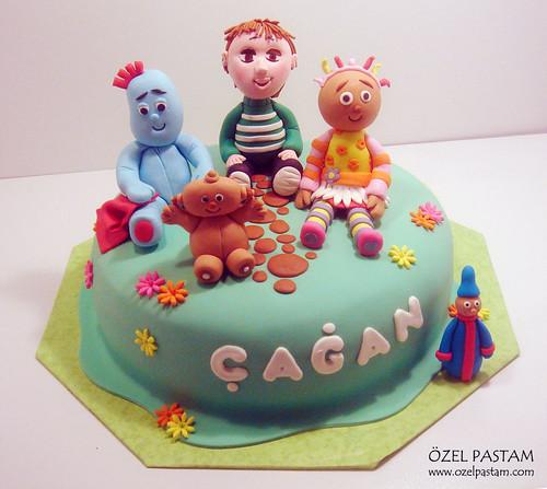 Çağan'ın Gece Bahçesi Pastası / In The Night Garden Cake