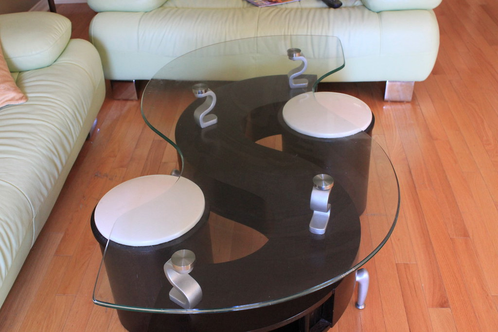 Funky coffee table set