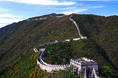 Great Wall of China #4 (joka2000 (Urasa/Tokyo)) Tags: china sky cloud mountain wall hdr greatwallofchina